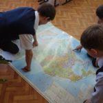 изучение карты