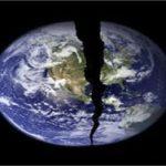 земной шар пополам