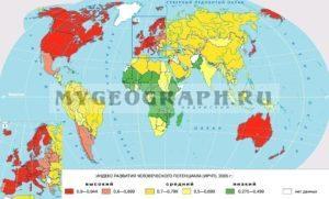 Индекс развития человеческого развития