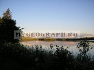 Утро на Карельском озере