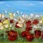 Бабачки на маковом поле