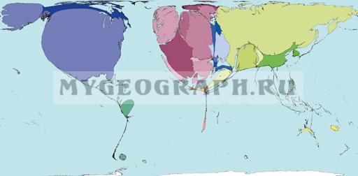 Карта Экспорта оружия