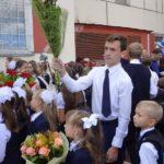 Цветы любимым учителям