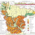 Карта Геологическое строение