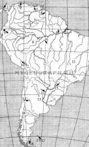Южная Америка. Физическая ката