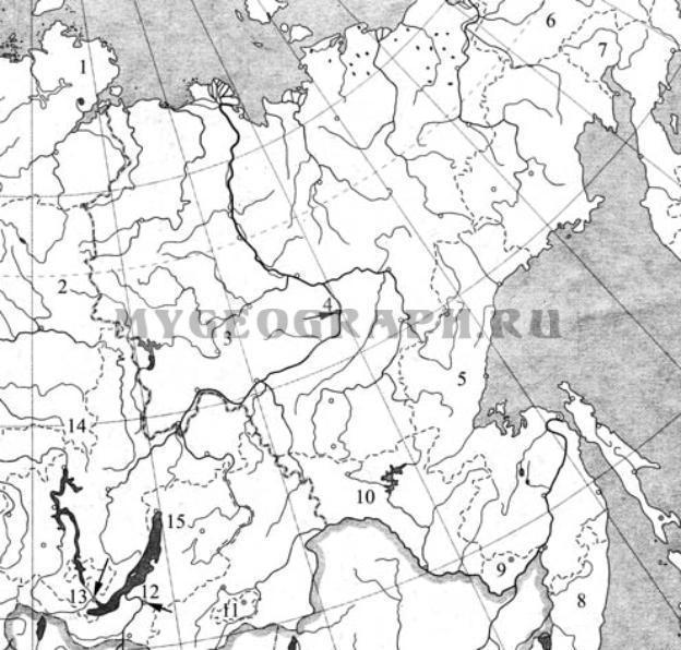 России Азиатская часть