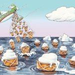 Охлаждение  океана