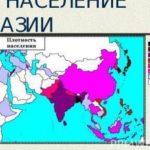 Плотность населения Азии