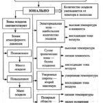Распределение осадков Схема 2
