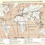 Карта Цивилизации  на религиозной основе